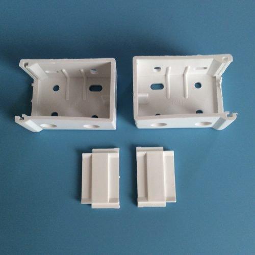Venetian Blind Multi Fix End Brackets 35 50mm Pair