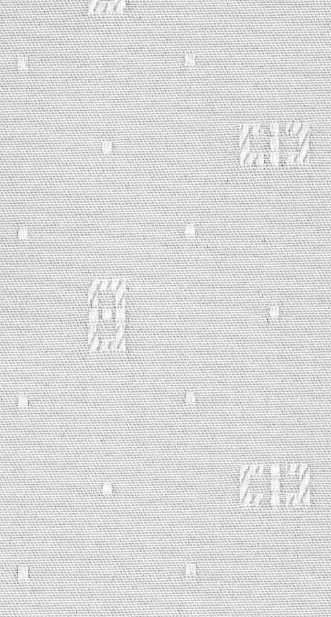 Vertical Blind Fabric Slat In Mizen White