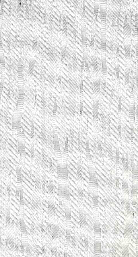 Vertical Blind Fabric Slat In Ventura White